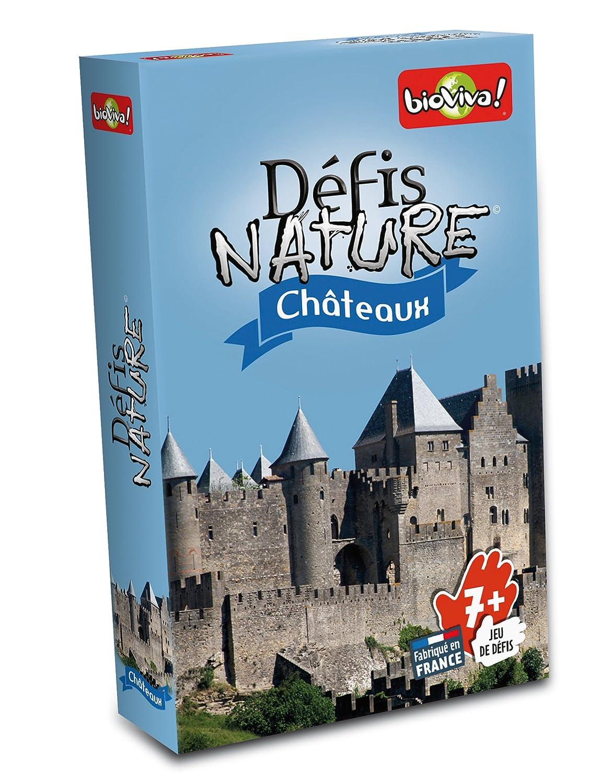 jeu de cartes défis nature - thème chateaux
