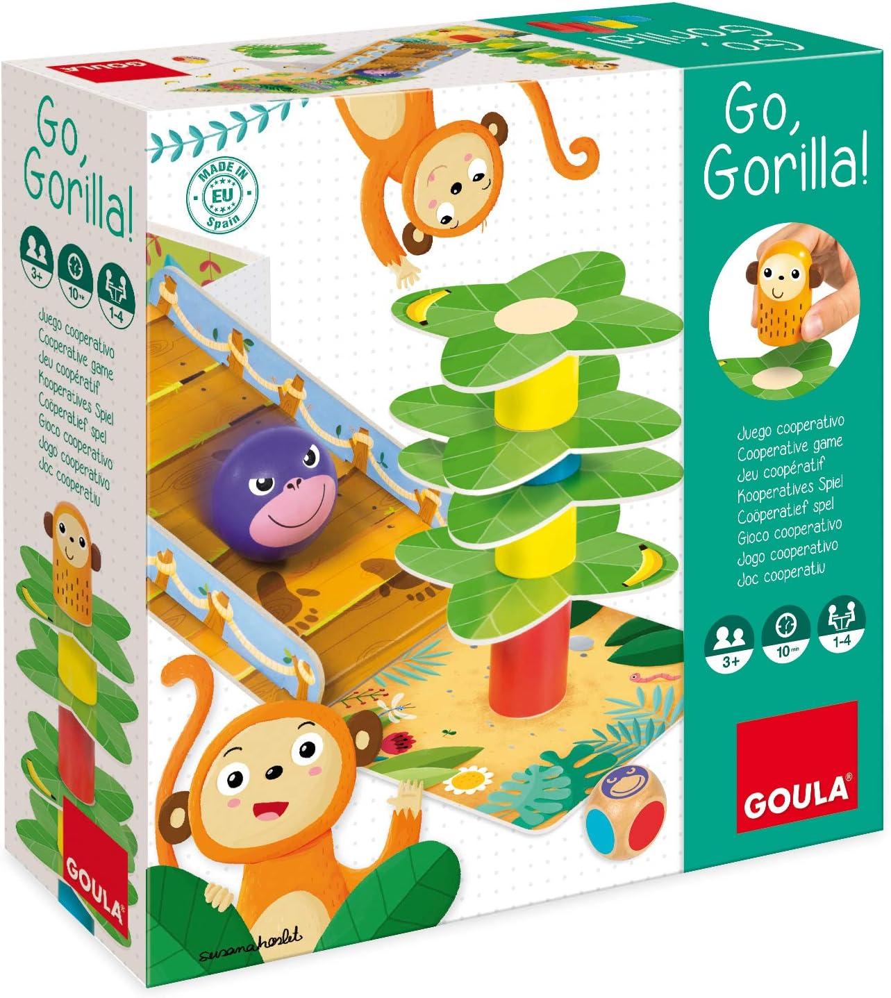 Goula - Go Gorilla (53153): Amazon.es: Juguetes y juegos