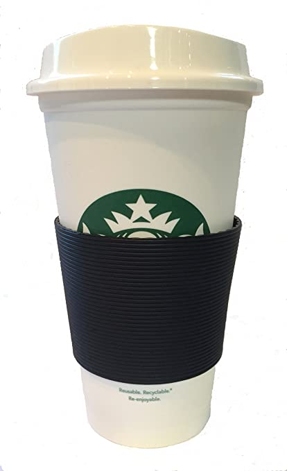 amazon com starbucks reusable travel cup to go coffee cup with