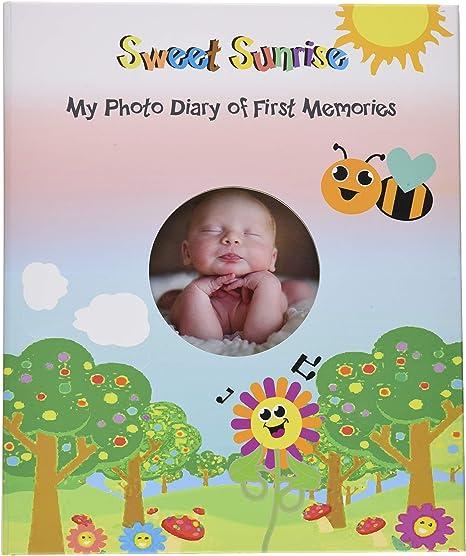 Álbum de recuerdos para bebé, regalo de ducha, álbum de fotos ...