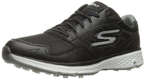Skechers Performance Men's Go Golf Fairway Golf Shoe, Black/White, ...