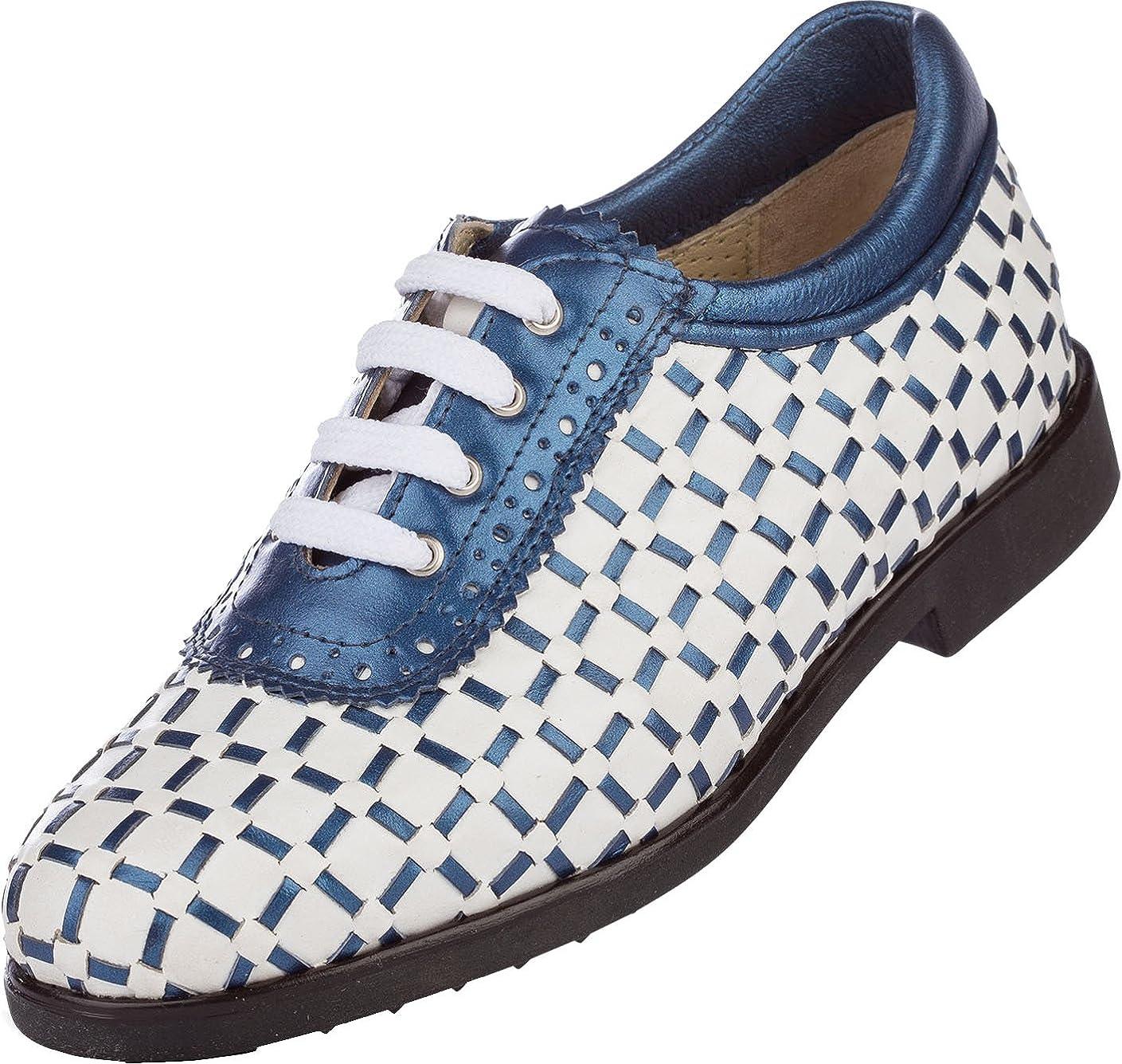 buy best look good shoes sale authentic AerogreeN PAVIA (White/Blue-metallic, White/Gold-metallic, White ...