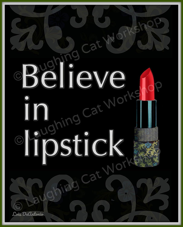 Amazon.com Lipstick Art French bathroom decor Girls