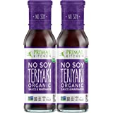 Primal Kitchen No Soy Teriyaki Two Pack Organic Marinade & Sauce - Whole 30 Approved (8.5 ounces) …