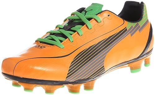 puma soccer scarpe arancio