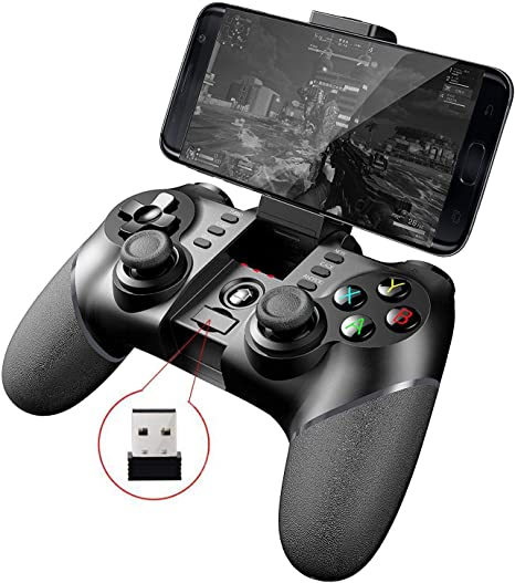 iPega PG-9076 Wireless+ 2.4G Wireless Gamepad Controller for Samsung Galaxy S9 /S9+ Google OPPO Vivo of Android Devices Smartphone Tablet TV Box PS3: Amazon.es: Electrónica