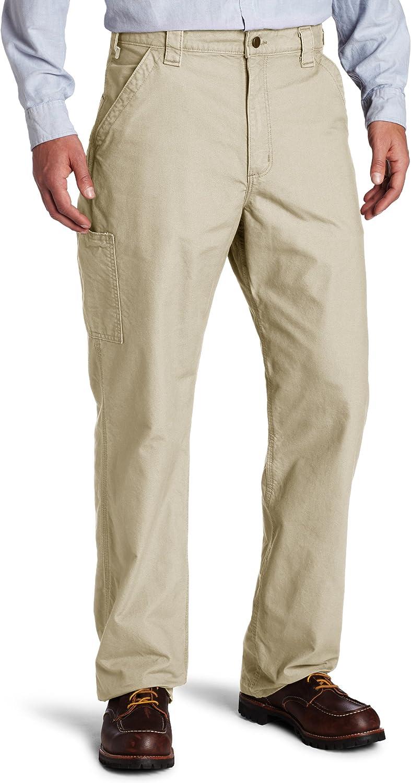 Amazon Com Carhartt Men S Canvas Dungaree Work Pant Clothing
