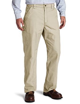 ea98bc7bbb7 Amazon.com  Carhartt Men s Canvas Work Dungaree Pant B151  Clothing