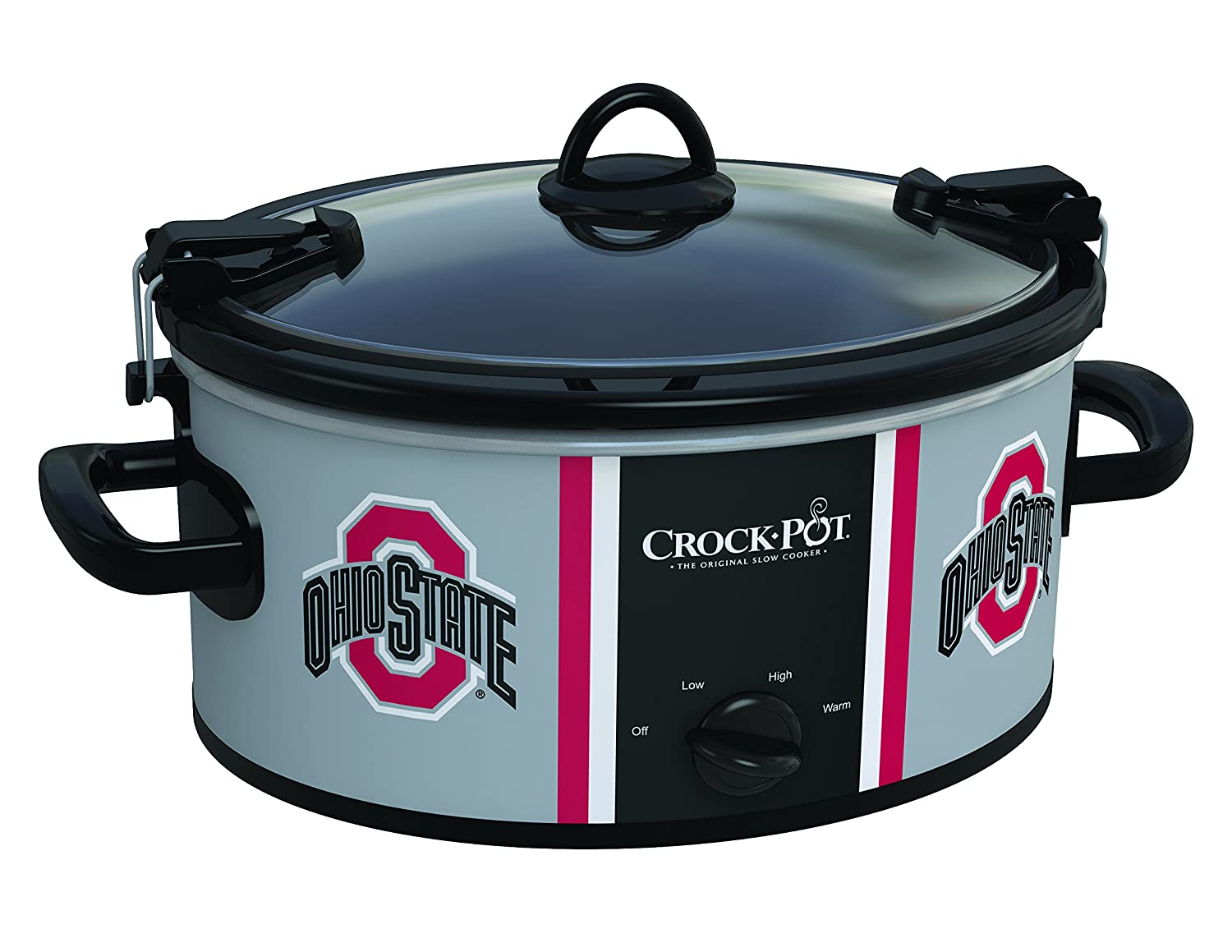 Crock-Pot Ohio State Buckeyes Collegiate 6-Quart Cook & Carry Slow Cooker