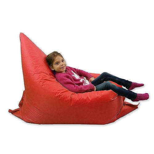 Kids BeanBag Large 6 Way Garden Lounger   GIANT Childrens Bean Bags Outdoor  Floor Cushion