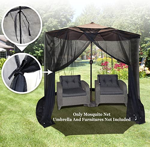 BenefitUSA Insect Net Mosquito Net Black Bug