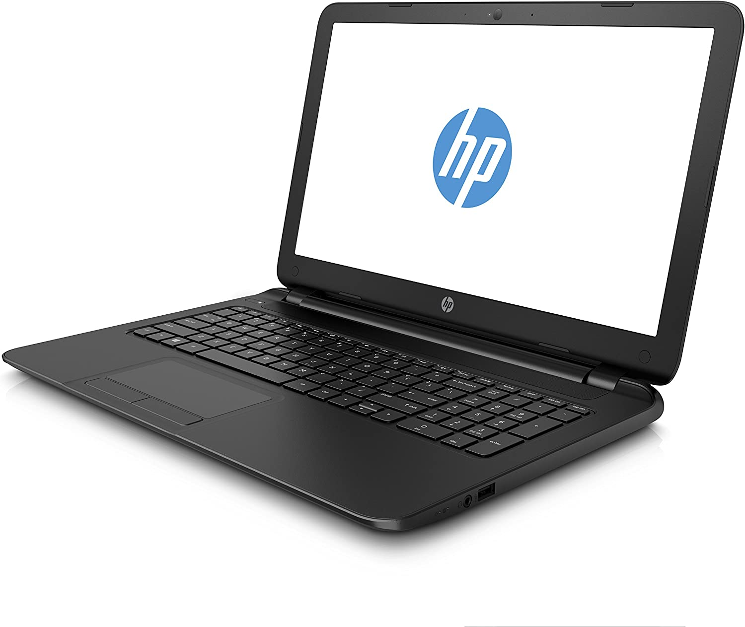 "HP 15-f004wm Laptop Computer - 15.6"" HD Brightview WLED Backlit Screen, Intel Celeron N2830 Processor 2.16GHz, 4GB DDR3 RAM, 500GB HDD, Super DVD Burner, Windows 8.1"
