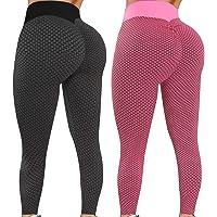 $29 » Reosse Leggings for Women - 2 Pack High Waist Yoga Pants for Women