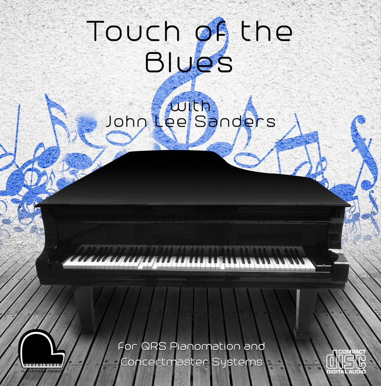 Touch of the Blues - QRS Pianomation and Baldwin Concertmaster Compatible Player Piano CD
