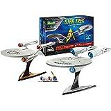 Revell 05721 - Coffret cadeau de 2 maquettes - Star Trek USS Enterprise