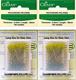 Amazon.com: Clover Quilting Pins, Fine : clover quilting - Adamdwight.com