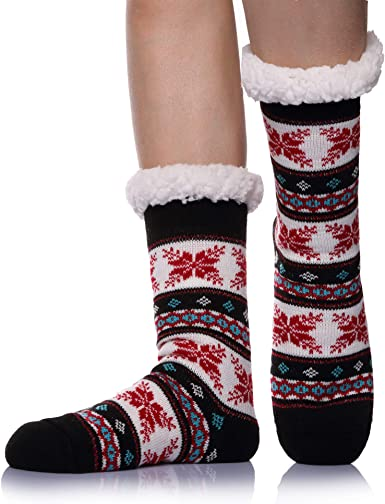 Sock Soft Lady Women Floor Bed Socks Warm Fuzzy Fluffy Cozy Thick Winter Plush