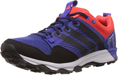 miércoles oxígeno Antídoto  adidas Performance Men's Kanadia 7 Trail Trail Running Shoes, Men's,  Blu/Rosso: Amazon.co.uk: Shoes & Bags