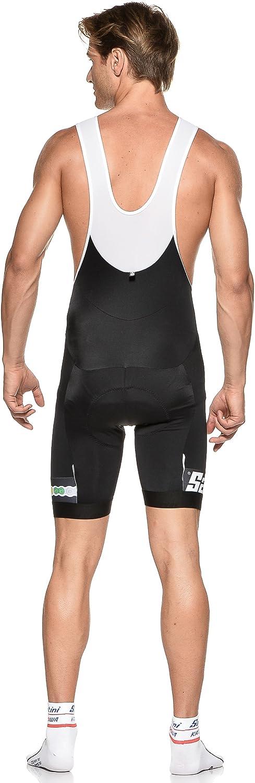 Santini UCI Fashion Bib Short avec Anatomic Gel Pad