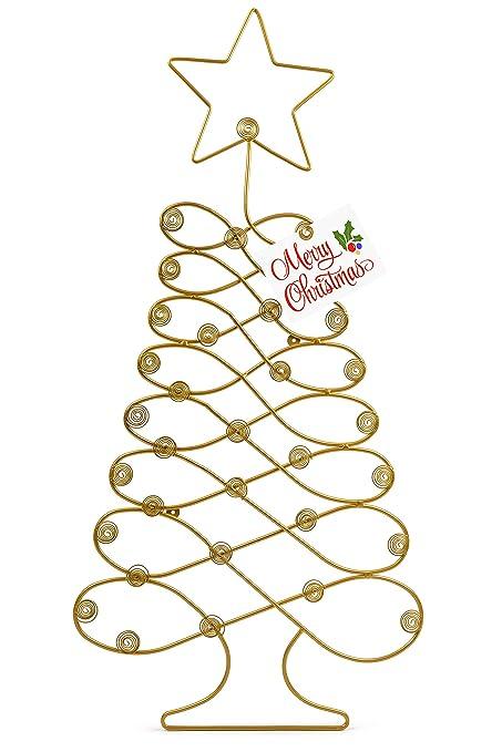 Amazon Com Naturemort Christmas Tree Card Holder Wall Mounted