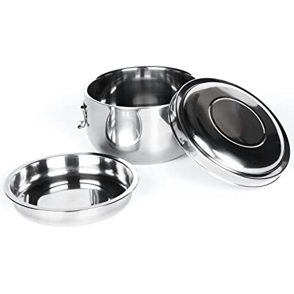 Amazoncom Onyx 180 Stainless Steel Double Walled 2 Layer Food