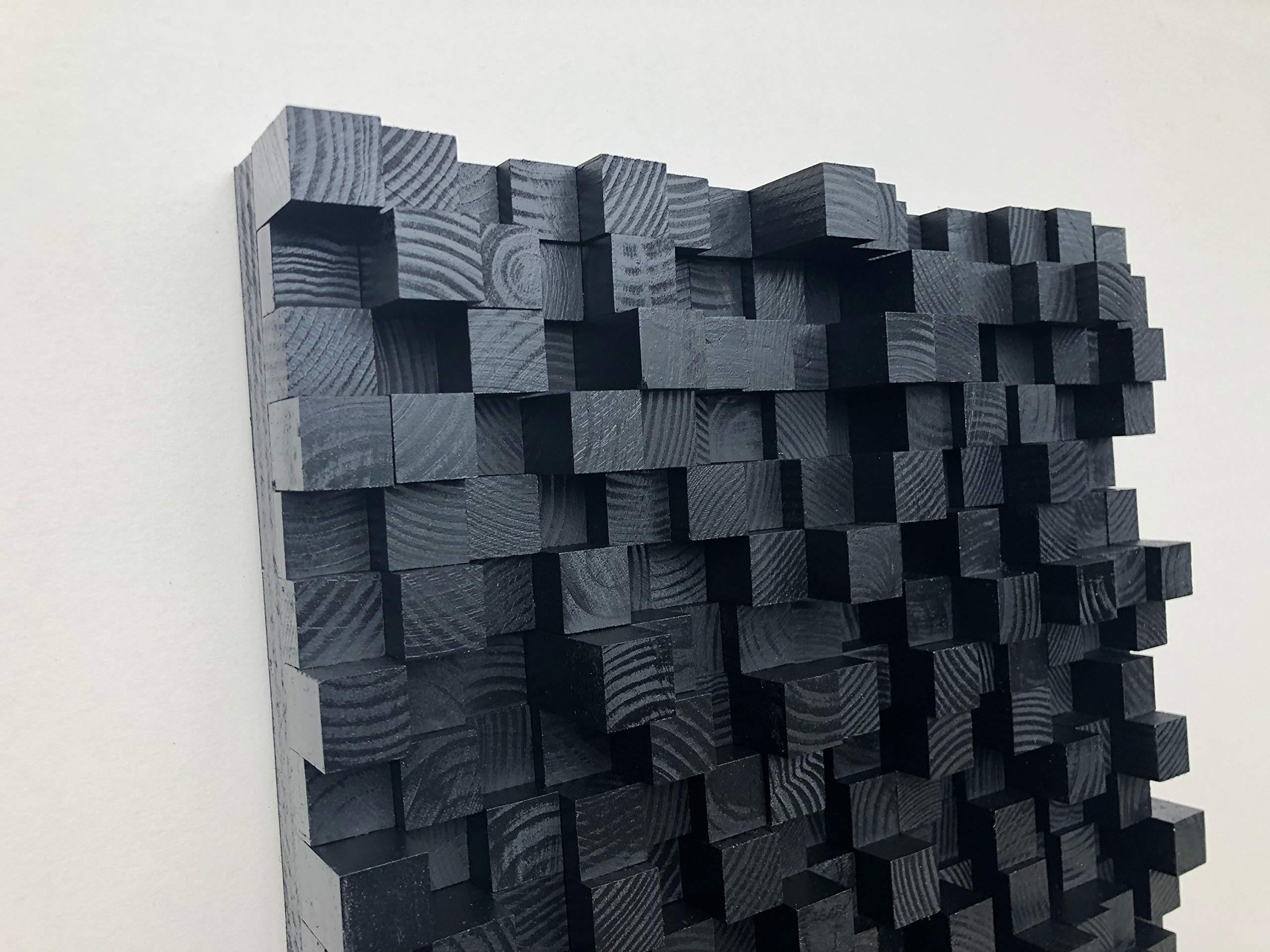 Sound Diffuser - Acoustic Diffusion Panel - Soundproofing - Wood - Wall Art- sound diffusor by Pixel wood art (Image #3)