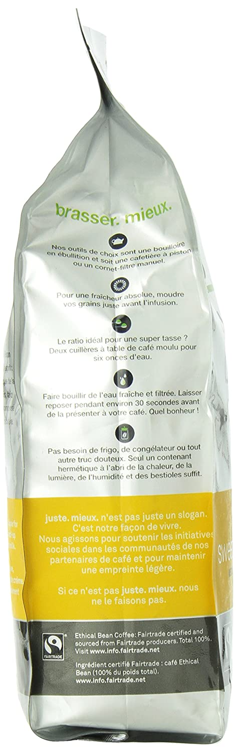 Ethical Bean Sweet Espresso Med Dark Rst Coffee 12 Oz (Pack of 6