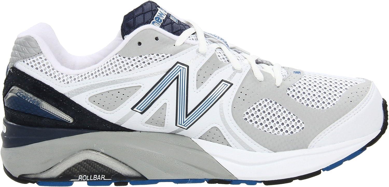New Balance Men's M1540 Running Shoe B0053EU70Q 11.5 4E US|White/Navy