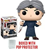 Funko Pop! Horror: Psycho - Norman Bates Vinyl Figure (Bundled with Pop BOX PROTECTOR CASE)