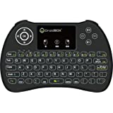 DroidBOX i9 Wireless 2.4Ghz Backlight i8 Mini-Keyboard Rechargeable with Mini Gestures Touchpad for Android TV BOX, T8, TX2, TX3, Raspberry Pi, Minix, Fire TV, NVIDIA Shield