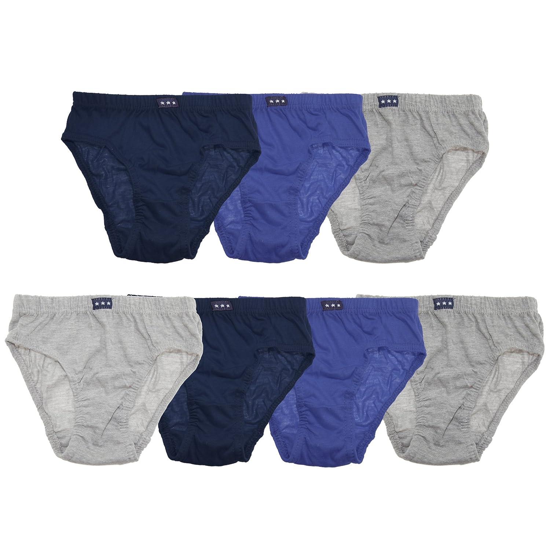 Tom Franks Boys Briefs Underwear (7 Pack)