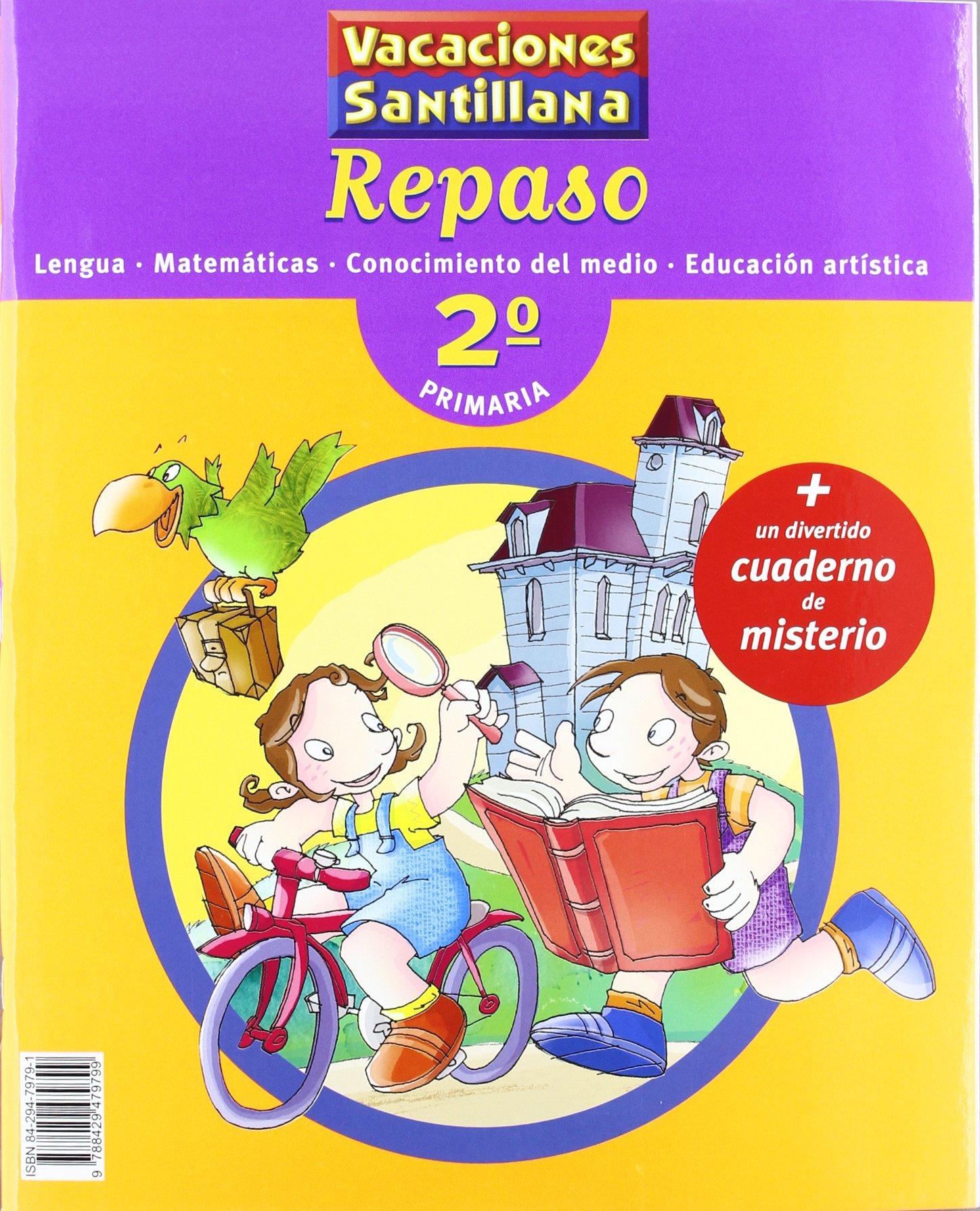 Vacaciones Santillana, lengua, matemáticas, conocimiento del medio, educación artística, 2 Educación Primaria. Repaso - 9788429479799: Amazon.es: Varios autores: Libros
