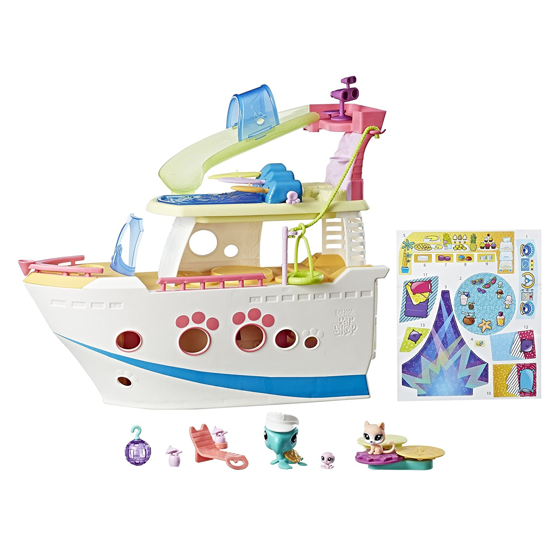 Littlest Pet Shop LPS Cruise Ship Hasbro C1159