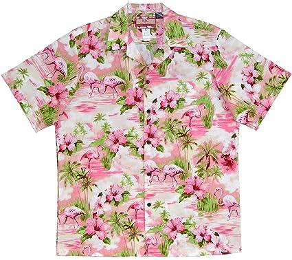 cc486a7b RJC Mens Soft Pink Flamingo Shirt at Amazon Men's Clothing store: