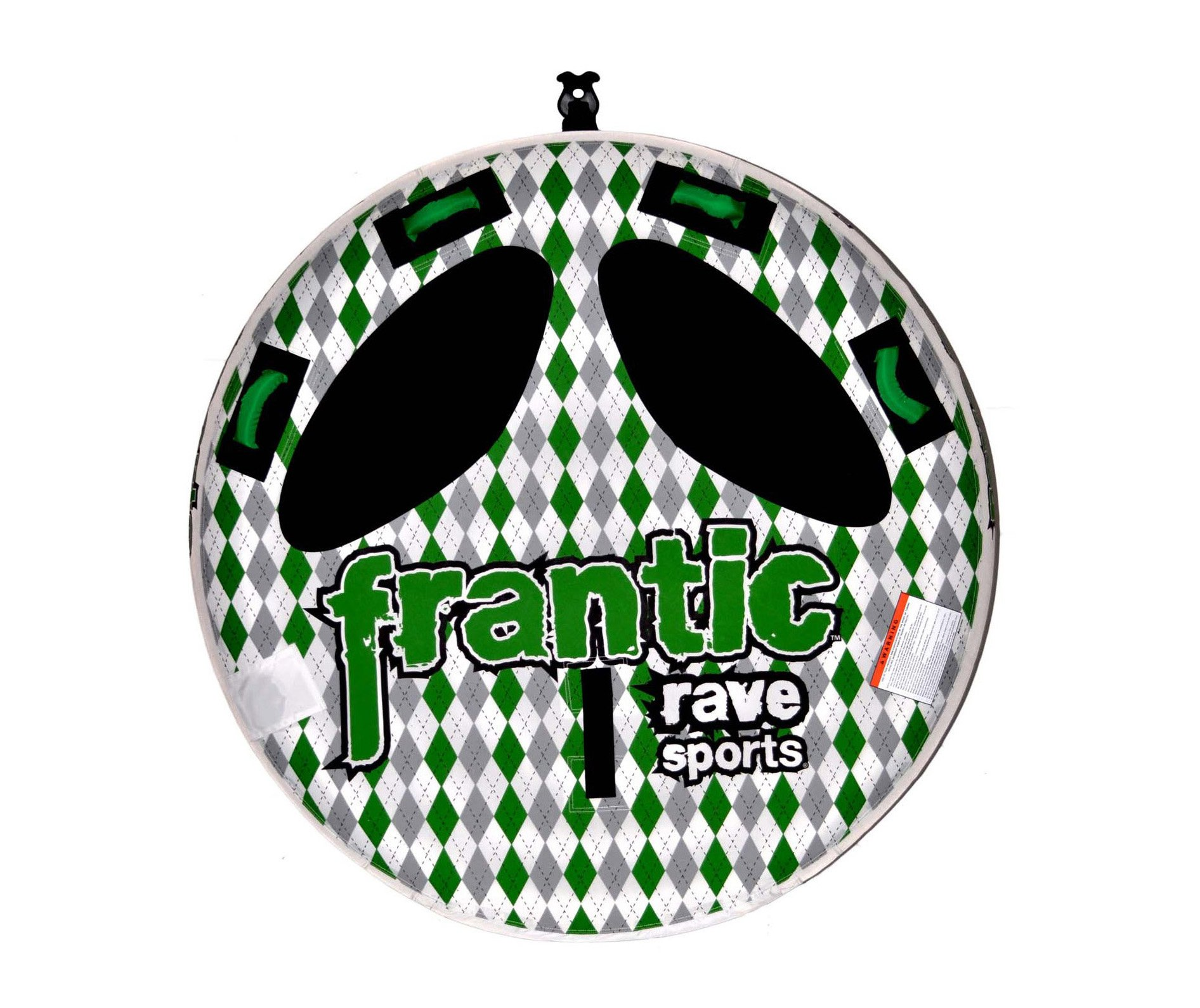 Rave Frantic Towable (56-Inch, Green/White)