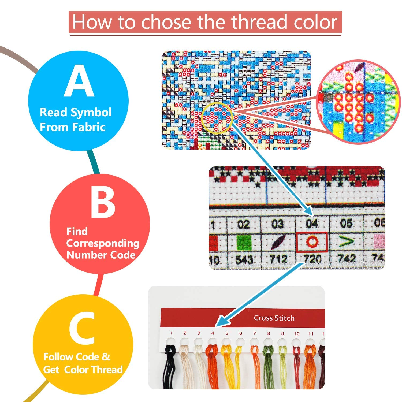 Love Bird 11 CT 15X 13 DIY Handmade Needlework Set Cross-Stitching Accurate Stamped Patterns Embroidery Frameless Good Value Cross Stitch Kits Beginners Kids