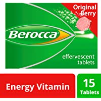 Berocca Energy Vitamin, Original Berry - 15 Effervescent Tablets