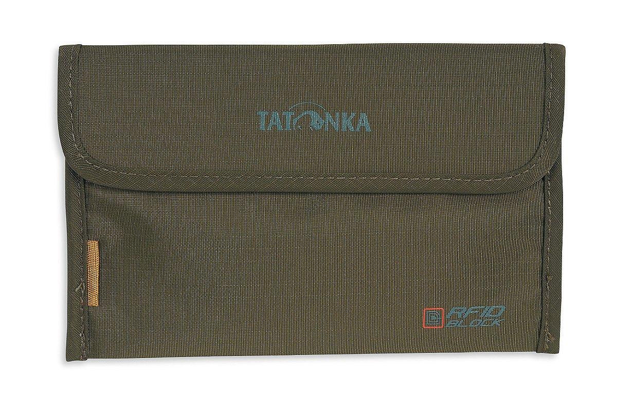 Tatonka Travel Folder Rfid B Organizer borsa, 17 cm, 0.2 litri, Olive 2956