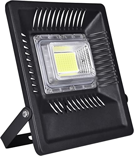 Viugreum 50W LED Flood Light Outdoor, 4250lm Daylight White 6500K, 250W Halogen Bulb Equivalent, Waterproof IP66 Super Bright Outdoor Security Lights for Factory, Garage, Garden, Lawn and Yard