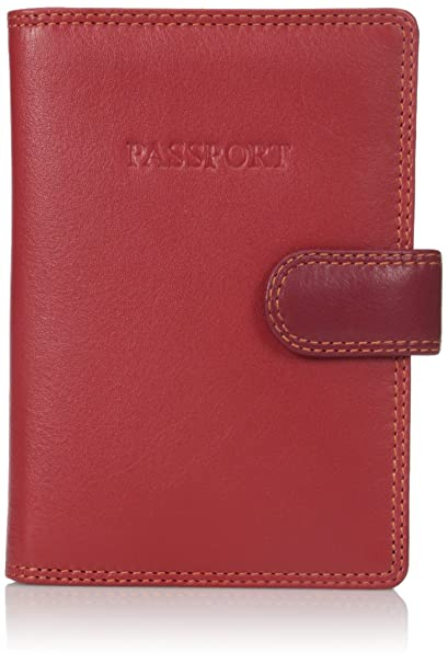 timeless design 58b5f 717ab Visconti RB 75 Multi Colored Passport Holder Cover Case/Wallet