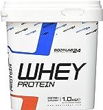 Bodylab24 Whey Protein Eiweißpulver ,Geschmack:  Kirsche-Joghurt, hochwertiges Proteinpulver, Low Carb Eiweiß-Shake für Muskelaufbau und Fitness, 1000g