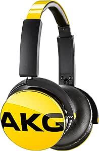 AKG sealed headphones (yellow) Y50YEL