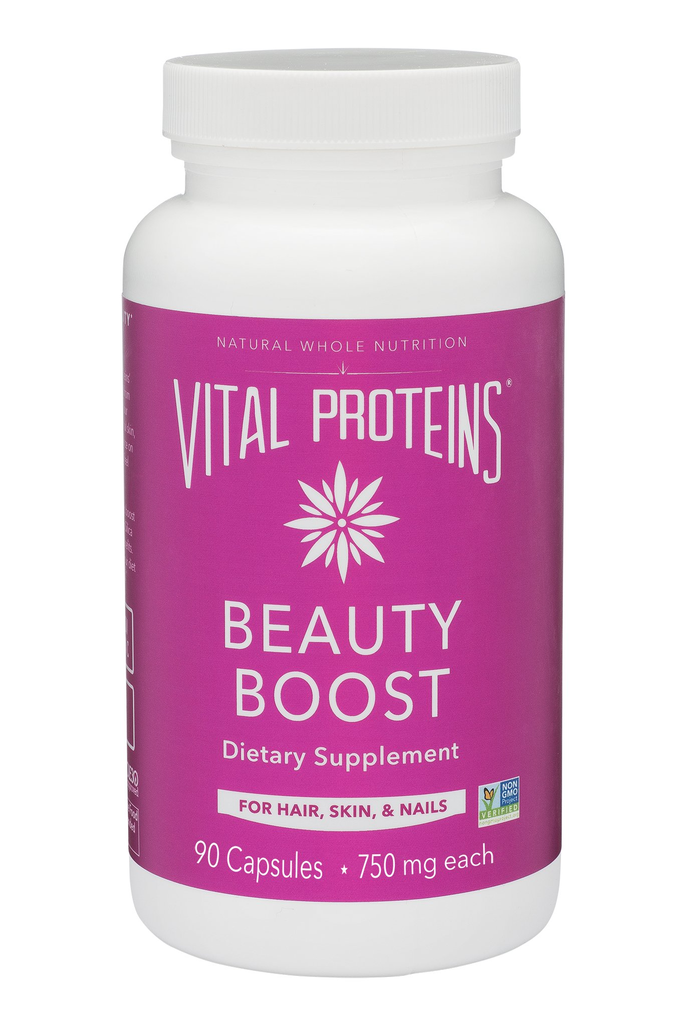 Vital Proteins Biotin Capsule Supplement - 1500mcg of Biotin per Serving (500% DV), Hair Skin Nail Support*, Boost Collagen Synthesis, Gluten-Free by Vital Proteins