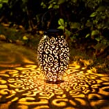 OxyLED Solar Lantern, LED Solar Garden Lights Outdoor, 1 Pack Hanging Lantern Solar Powered with Handle Waterproof…