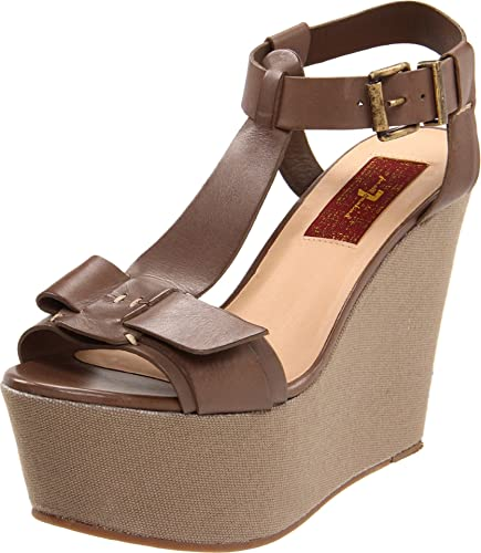 d647b8785e94 Amazon.com  7 For All Mankind Women s Kalistoga Wedge Sandal  Shoes