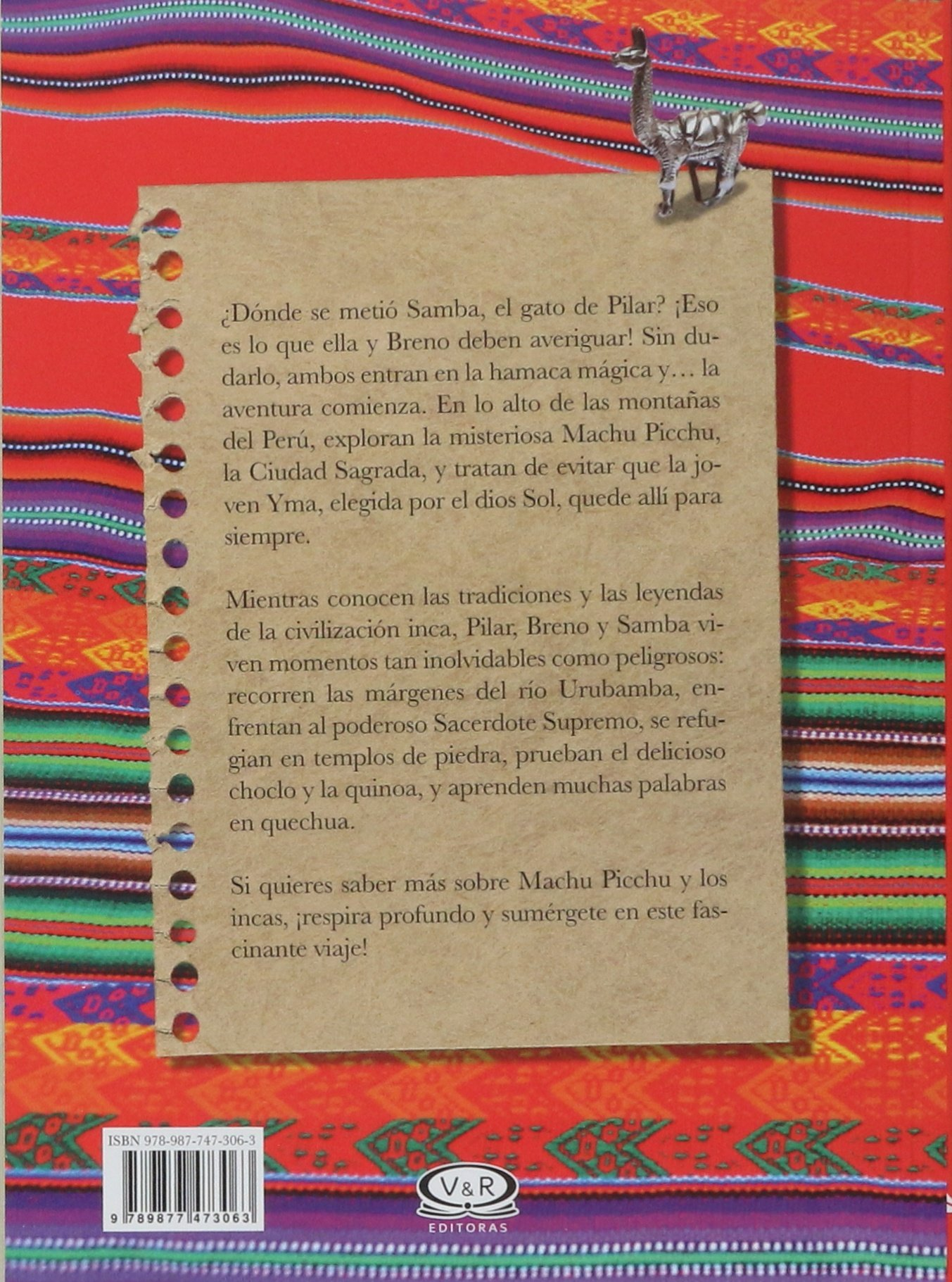 Diario de Pilar en Machu Picchu (Spanish Edition): Flavia Lins e Silva, V&R, Joana Penna: 9789877473063: Amazon.com: Books