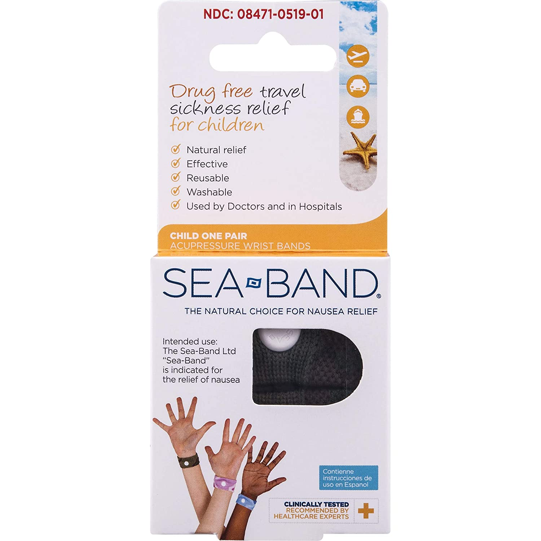 Sea Band Child Wrist One Pair *** Pink *** Seaband