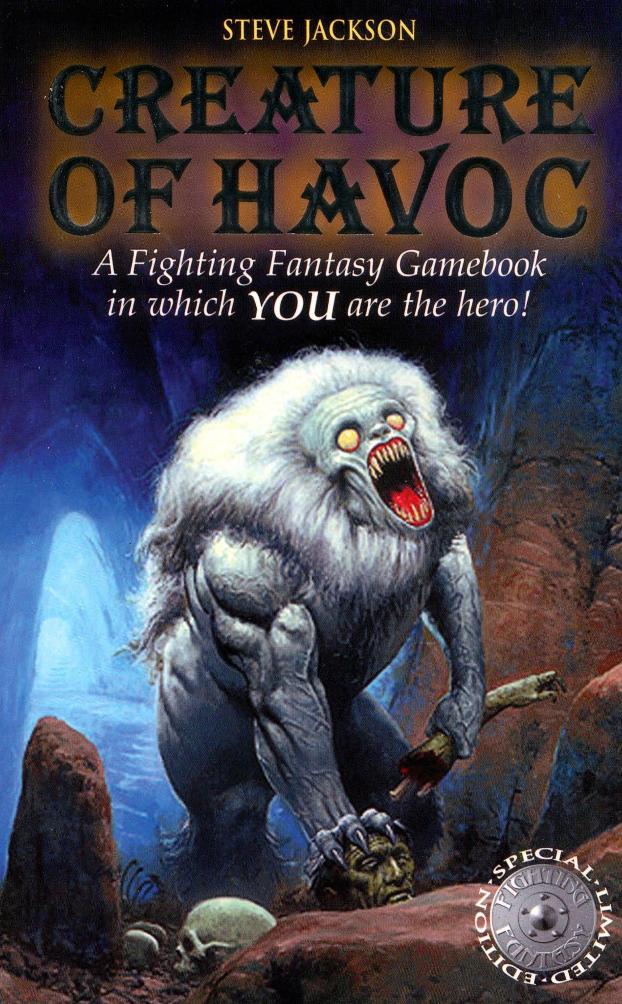 Creature of Havoc (Fighting Fantasy) pdf