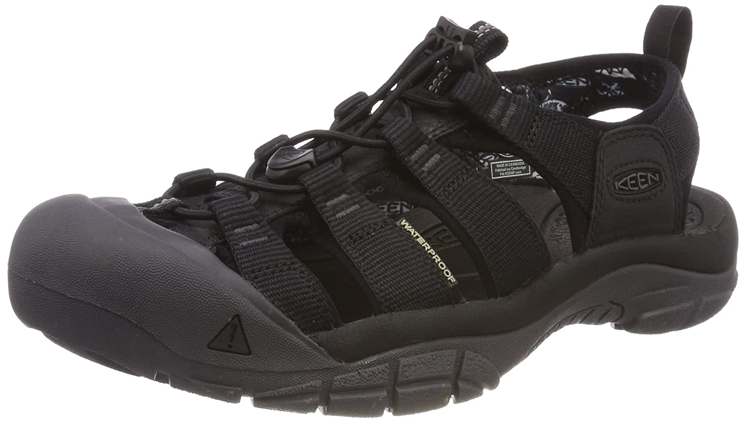 Keen Men's Newport ECO Sandals, Black/Magnet 1018803