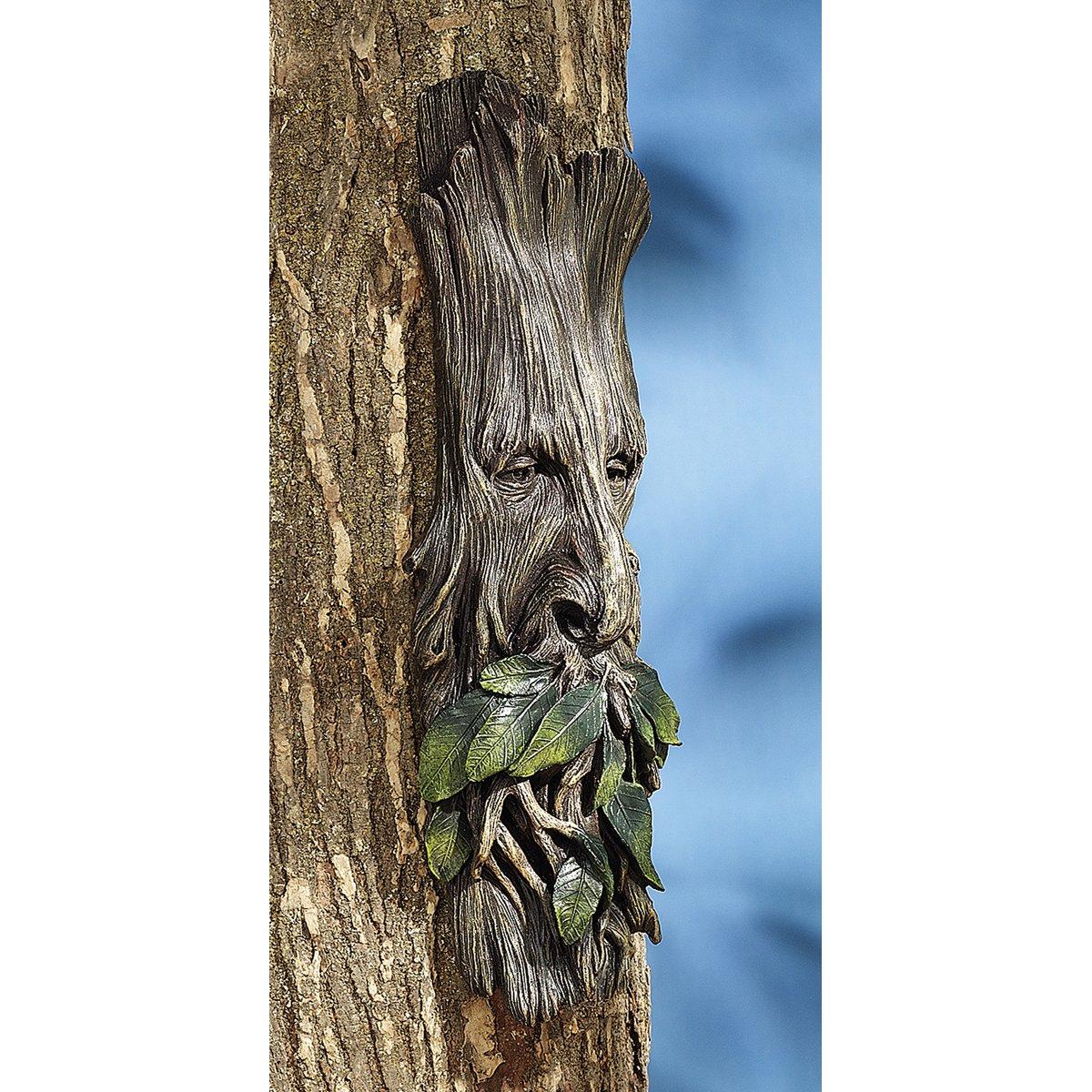 amazon com design toscano whispering wilhelm tree ent sculpture